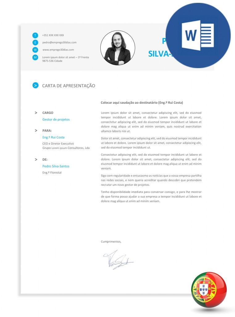 modelo exemplo de carta de apresentação