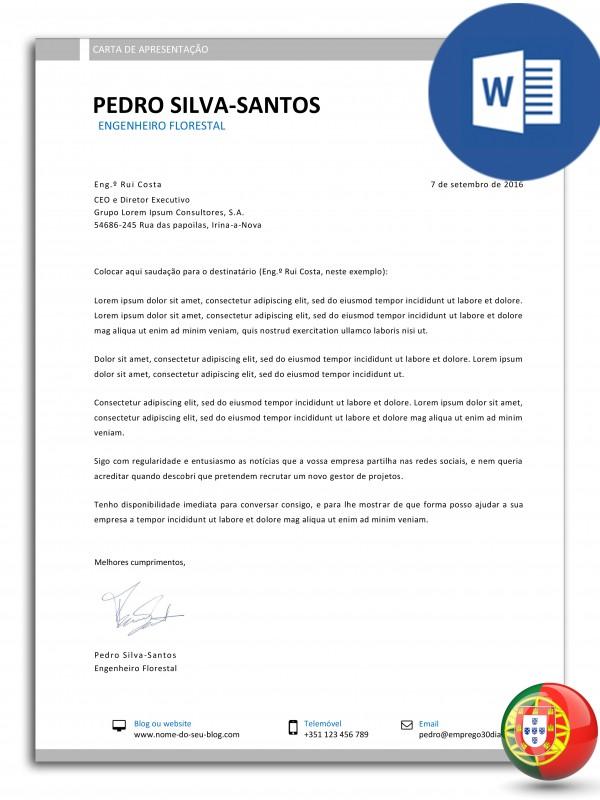 CA-PSS-E30D-003 – carta de apresentação editável em word