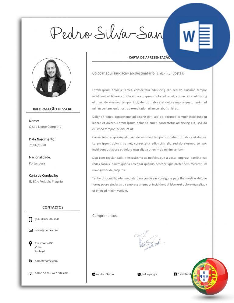 CA-DO-E30D-001 – modelo de carta de apresentação editável em Word