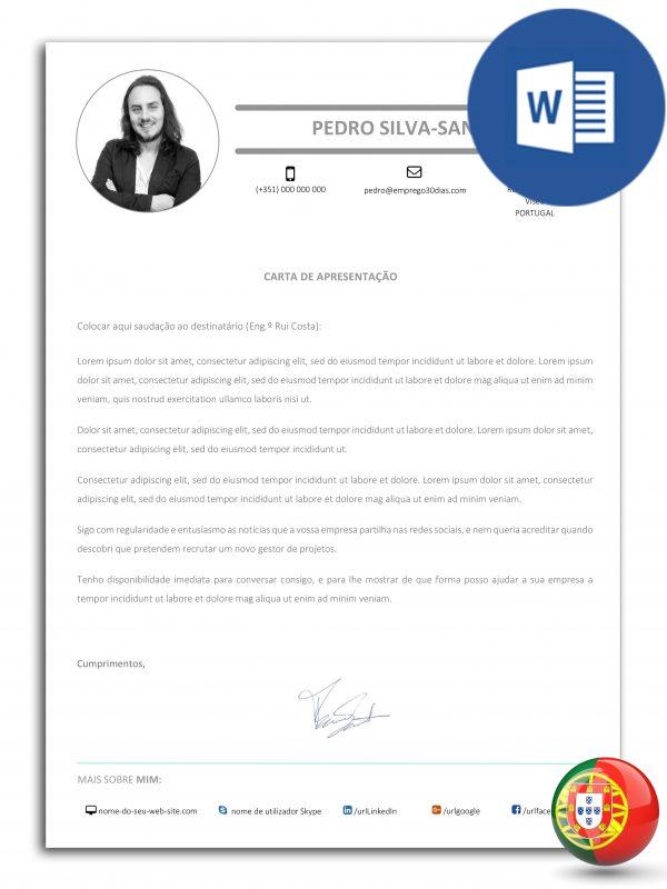 CA-DO-E30D-002 – modelo de carta de apresentação editável em Word