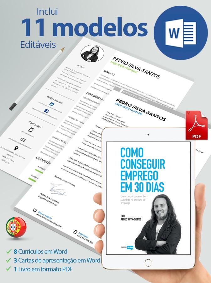 modelos de curriculo cartas de apresentação e livro em PDF