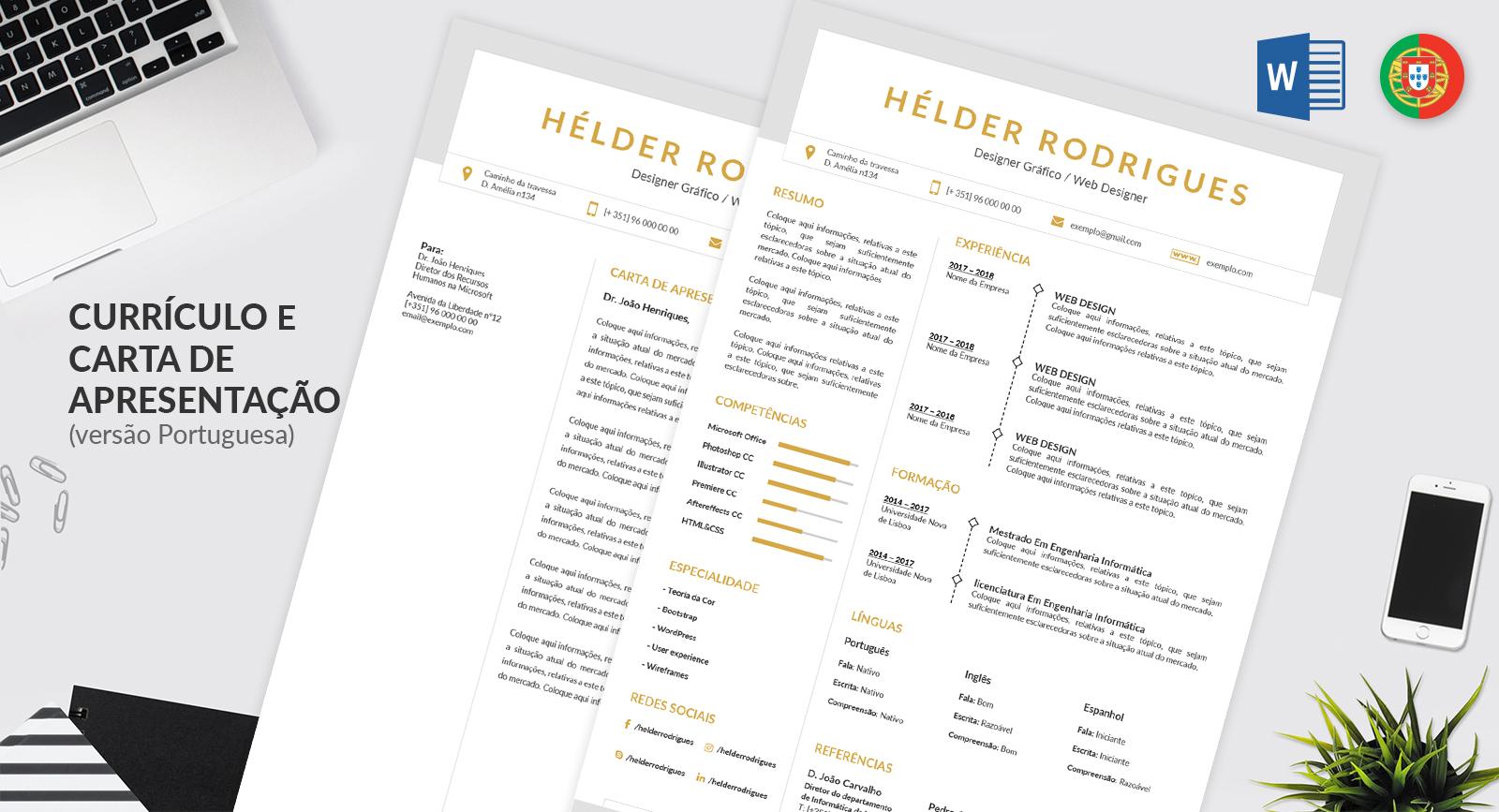 Modelo de carta de apresentação editável - NOCTULA store