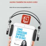 Audio Livro Como conseguir emprego em 30 dias - vertical