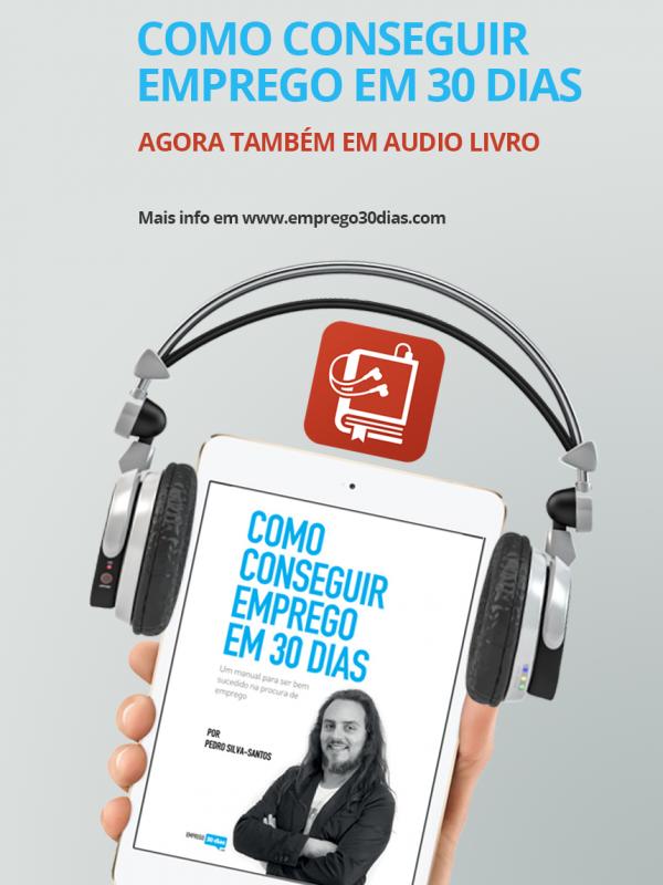 Audio Livro Como conseguir emprego em 30 dias – vertical