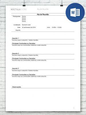 modelo de carta editavel em Word DO004 - destaque