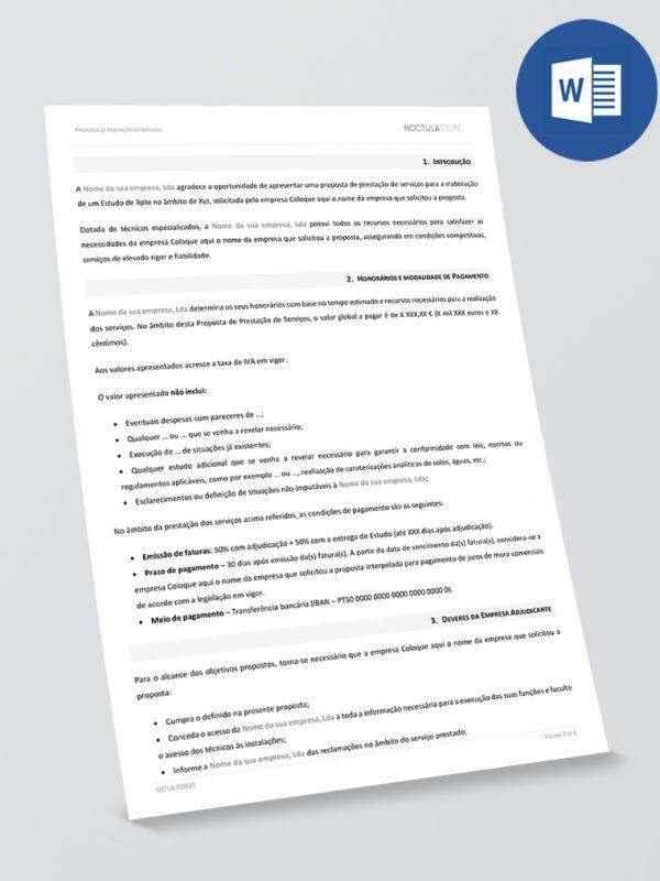 modelo de proposta editavel em Word – pag1