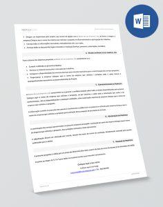 modelo de proposta editavel em Word - pag2