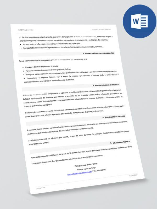 modelo de proposta editavel em Word – pag2